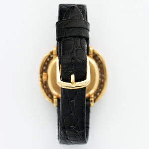 Patek Philippe Vintage 4287/1 18k YG  Mint Ladies 18k YG Gold 28.5mm Manual 1970s Black Crocodile N/A