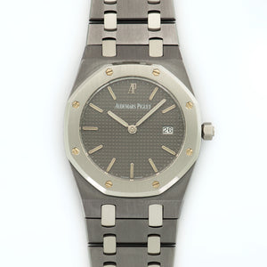 Audemars Piguet Royal Oak 14508 Tantalum  Mint Gents Tantalum Grey 34mm Quartz 1990s Tantalum Bracelet N/A