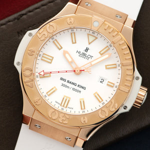 Hublot Big Bang King 322.PE.230.RW 18k RG  Excellent Gents 18k RG White 48mm Automatic 2000s White Rubber Box