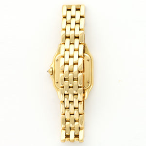 Cartier Panthere N/A 18k YG  Excellent Ladies 18k YG Cream 24mm Quartz Yellow Gold Bracelet (6 inches) N/A