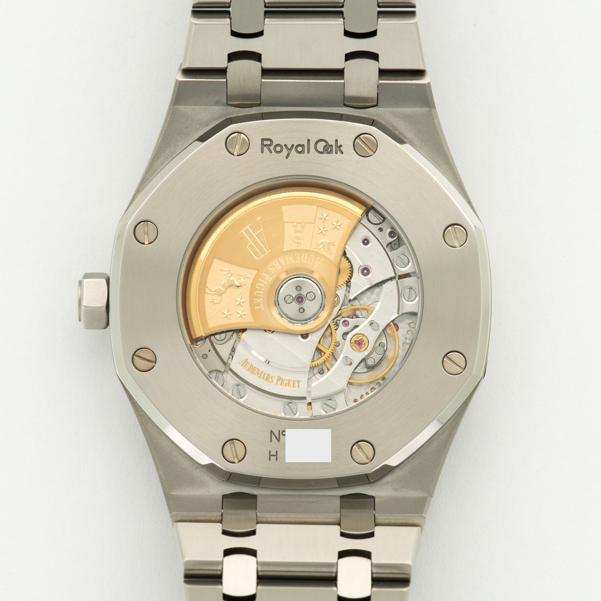 Audemars Piguet Royal Oak 15400ST.OO.1220ST.02 Steel  Likely Never Polished, Original Finish Gents Steel Silver 41mm Automatic 2013 Stainless Steel Bracelet Original Box and Certificate