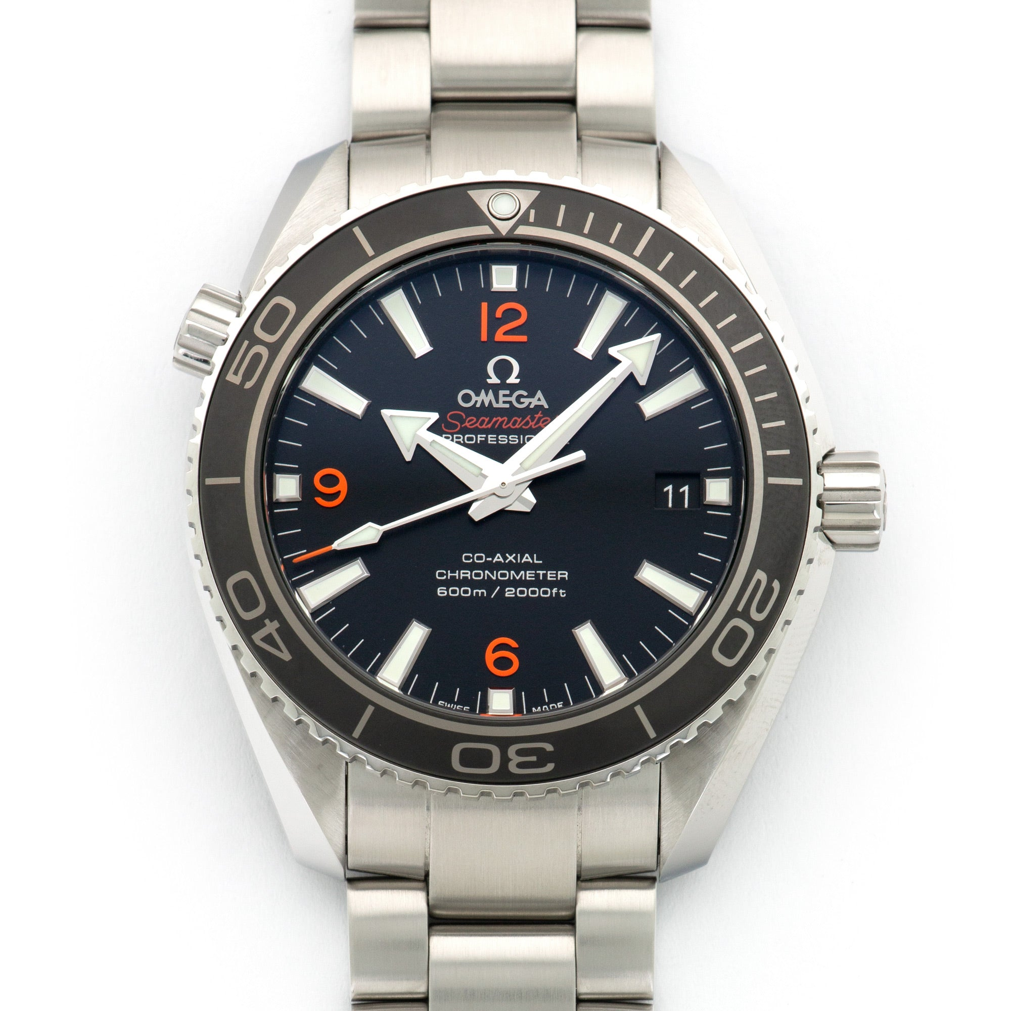 Omega Seamaster 232.30.42.21.01.003 Steel  Unworn Gents Steel Black 42mm Automatic Current Stainless Steel Box, Manuals, Warranty Card