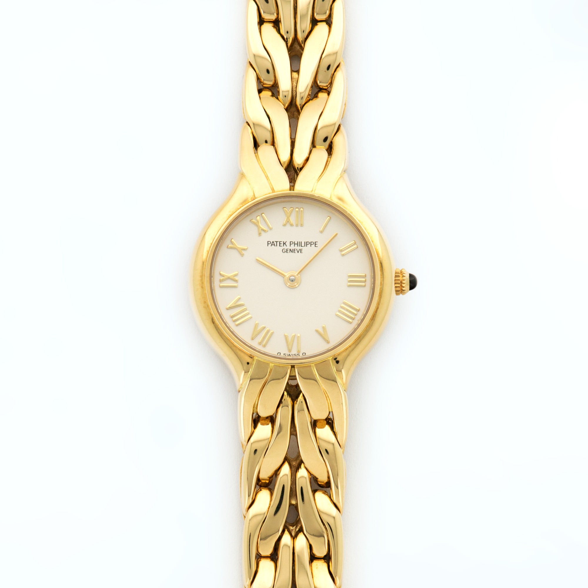 Patek Philippe Gondolo 4816 18k YG  Excellent Ladies 18k YG Cream 22mm Quartz 2000s Yellow Gold Bracelet N/A