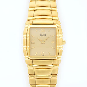 Piaget Tanagra 95161 18k YG  Mint Gents 18k YG Gold 30mm X 35mm Manual 2000s Yellow Gold Bracelet (5.75) N/A
