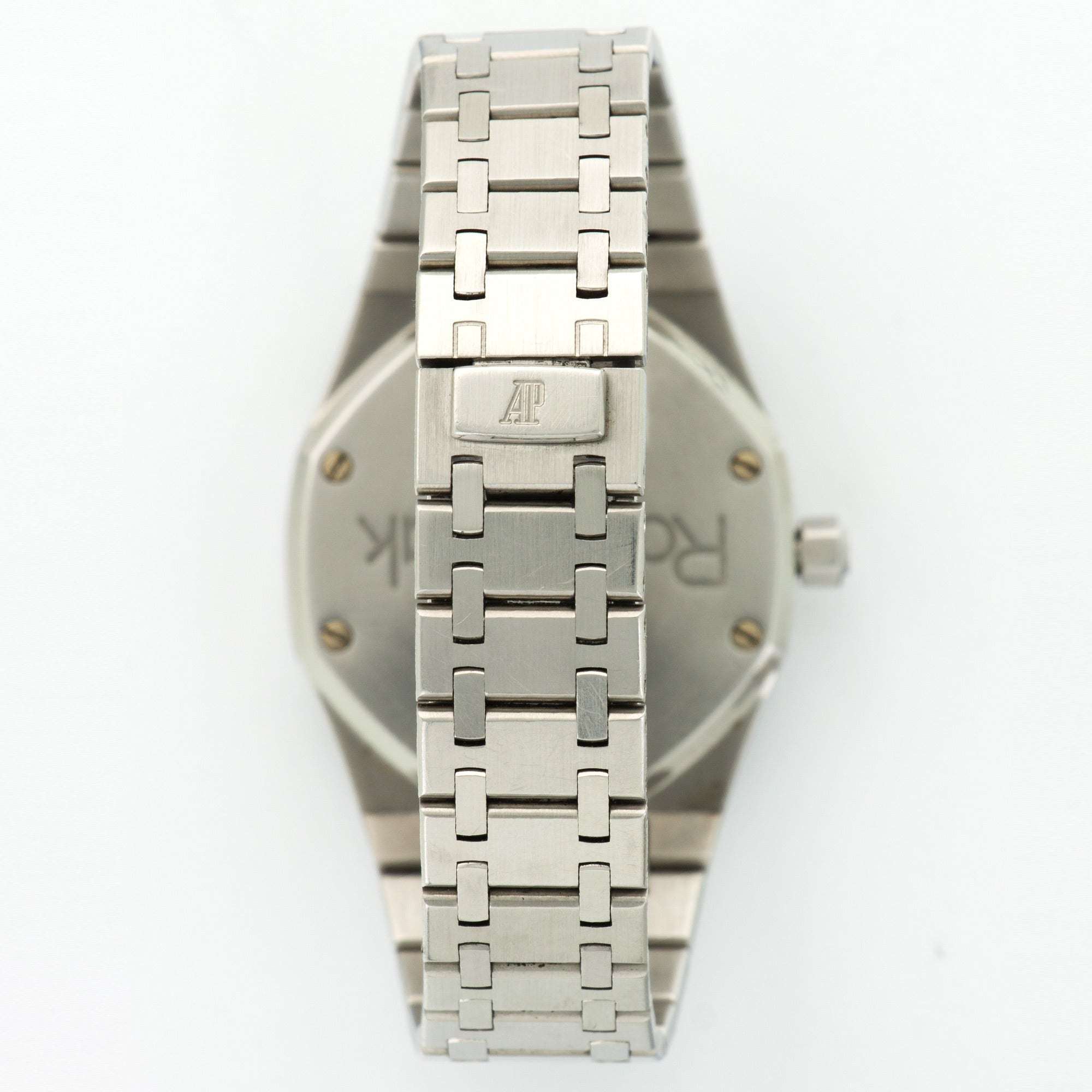 Audemars Piguet Royal Oak N/A Steel  Excellent Gents Steel Silver 37mm Automatic 1990s Steel Bracelet B+P