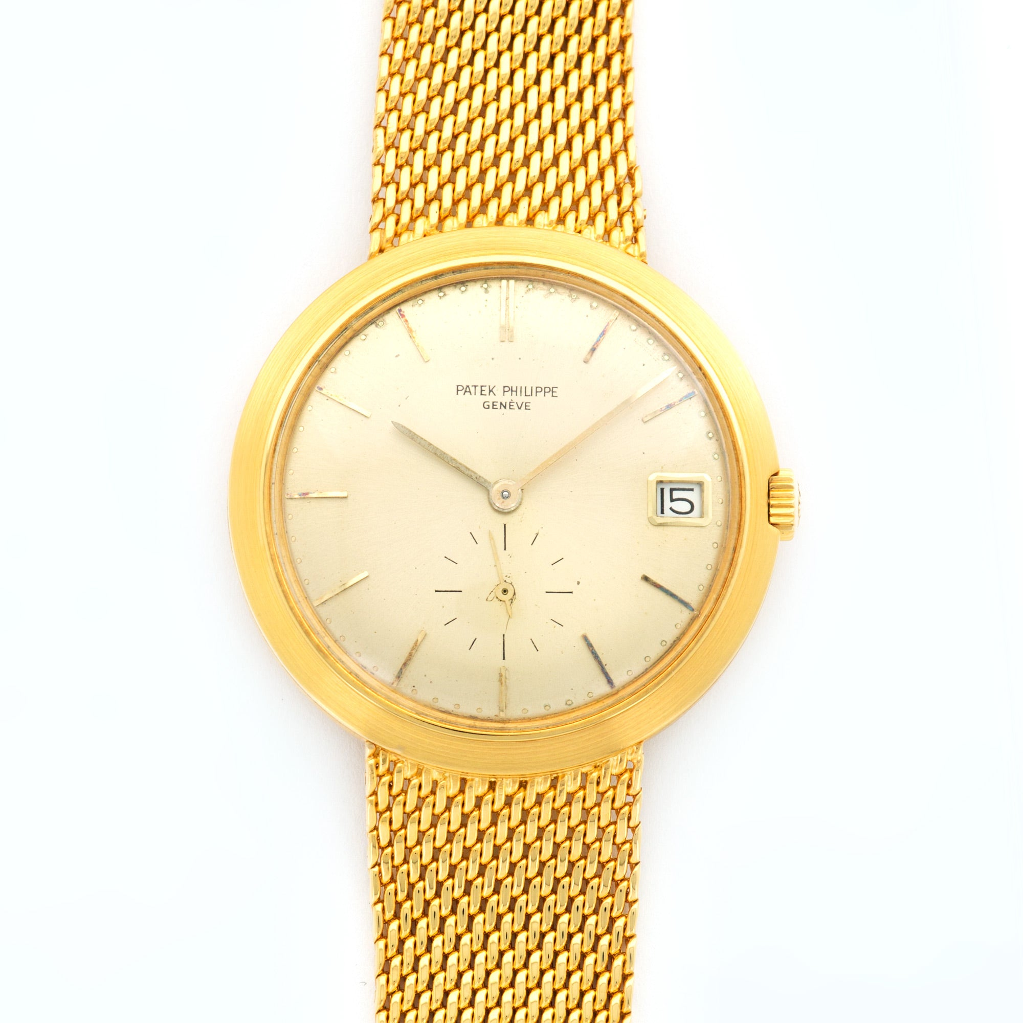 Patek Philippe Calatrava 3565/1J 18k YG  Excellent Gents 18k YG Gold 35mm Automatic 1970s Yellow Gold N/A