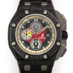 Audemars Piguet Offshore Grand Prix 26290IO.OO.A001VE.01 Carbon Fiber  Mint Gents Carbon Fiber Black, Grey and Red 44mm Automatic 2010 Leather Strap Original Box and Certificate