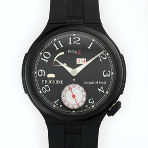 FP Journe Octa Auto N/A Aluminium  Unworn Gents Aluminium Black 40mm Automatic 2017 Rubber B+P
