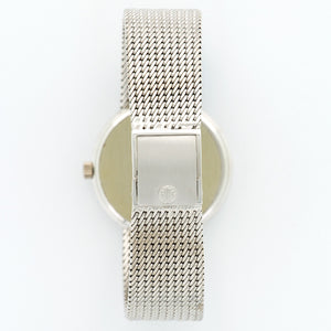 Patek Philippe Calatrava 3802/205 18k WG  Excellent Gents 18k WG White 33mm Automatic 1990s White Gold Bracelet (185mm) N/A