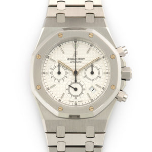 Audemars Piguet Royal Oak Chrono 25860ST.00.111 Steel  Mint Gents Steel Silver 39mm Automatic Stainless Steel Box