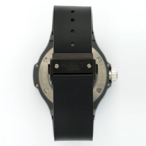 Hublot Big Bang Tourbillon 305.CM.134.RX Ceramic  New Gents Ceramic Black 44mm Manual Current Rubber B+P