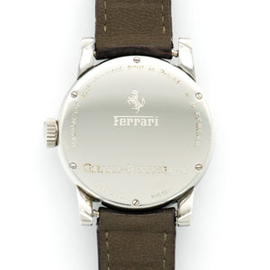 Girard Perregaux Ferrari 8030 Steel  Excellent Gents Steel Black 37mm Automatic 1990s Brown Crocodile N/A