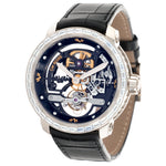 Dewitt Skeleton T8.RH.009A 18k WG  New Gents 18k WG Skeleton 43mm Manual 2020 Croc Original Box and Certificate