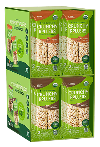Friendly Grains - Crunchy Rollers - 2-Pack