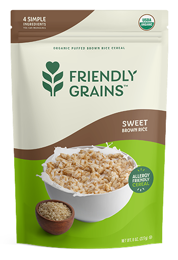 Friendly Grains - Cereal - Sweet Brown Rice