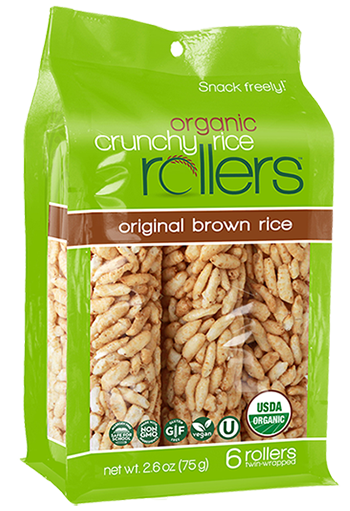 Friendly Grains - Crunchy Rollers - Original Brown Rice
