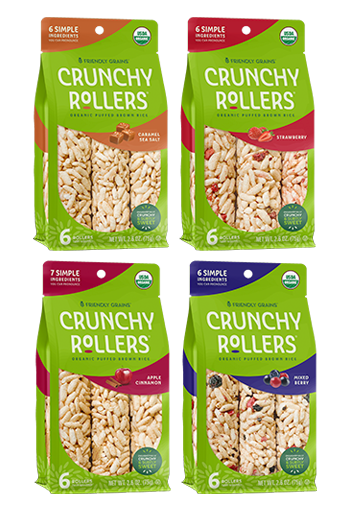Friendly Grains - Crunchy Rollers - Variety Pack