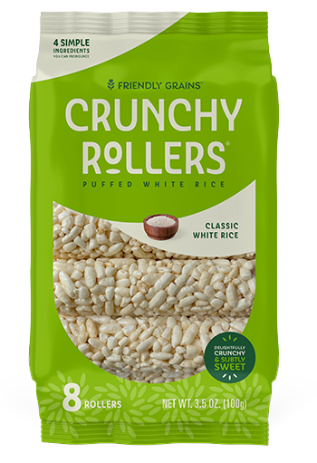 Friendly Grains - Crunchy Rollers - Classic White Rice