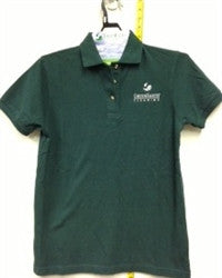 Ladies Short Sleeve Polo (Green, White, Black)