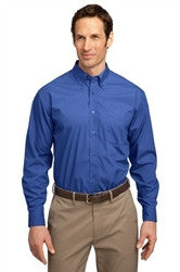 Mens Wrinkle-resistant Long Sleeve Shirt