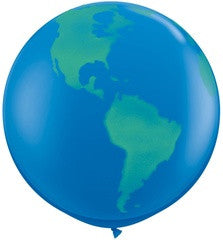 Large Earth Balloons - 36""