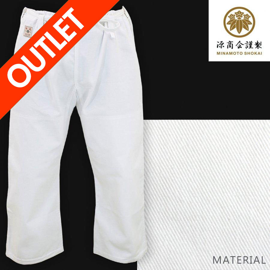 [Outlet] Standard Aikido Pants + White Obi Set