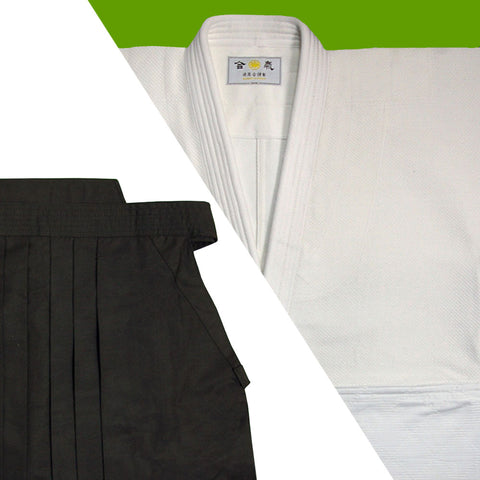 Tall Size Single Layered Gi [DX] + Dx Tetron Hakama Set