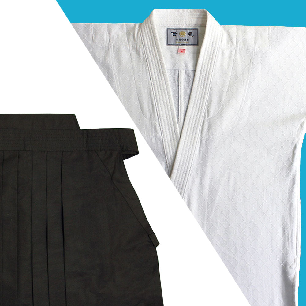 """TENMA"" Ultra-lightweight Gi + Dx Tetron Hakama Set"