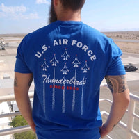OFFICIAL USAF THUNDERBIRD DELTA FORMATION T-SHIRT