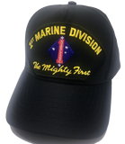 1ST MARINE DIVISION HAT * 100% MADE IN THE USA