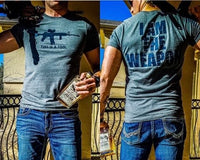 I AM THE WEAPON T-SHIRT by GRUNT STYLE