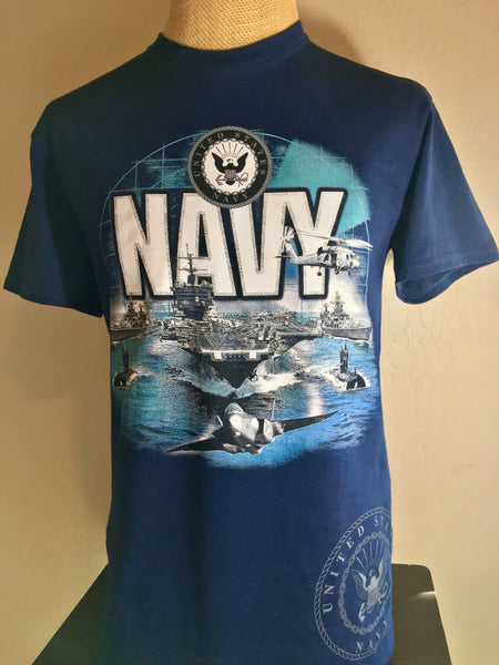 THE TOTAL NAVY TEE