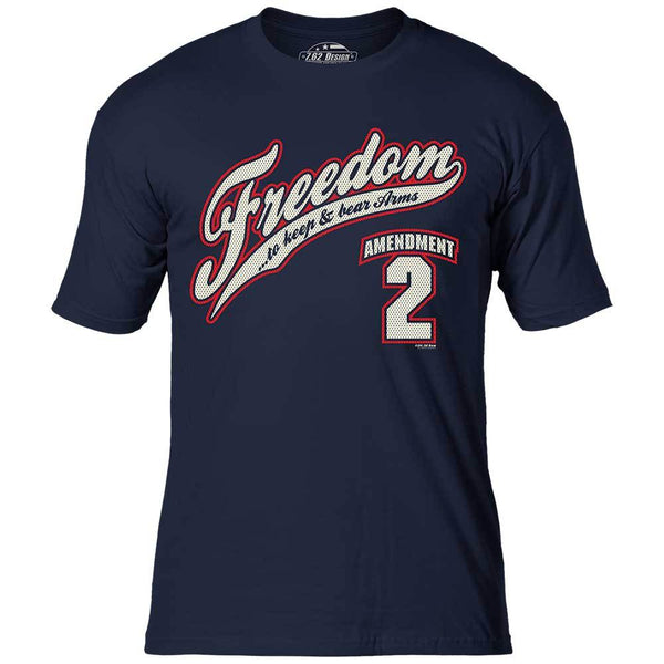 2ND AMENDMENT FREEDOM PREMIUM TEE - RETIRED DESIGN