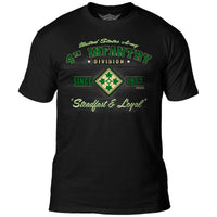 Army 4th Infantry division t-shirt by 7.62 Design