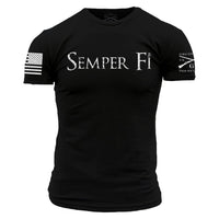 USMC SIMPLY SEMPER FI T-SHIRT ~ 100% USA MADE