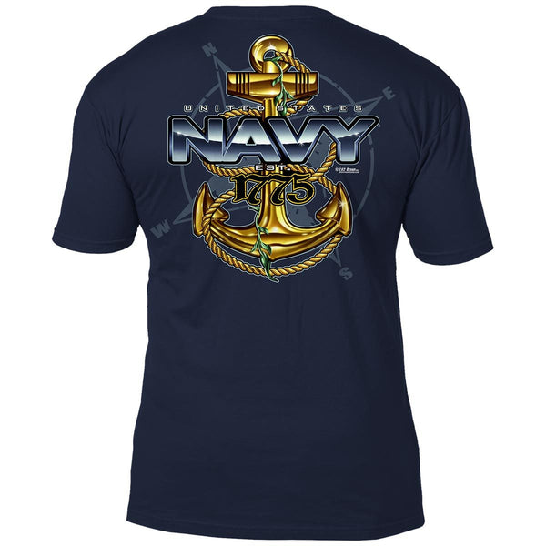 US Navy T-Shirt 'Compass'
