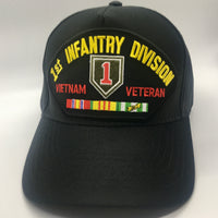1ST INFANTRY DIV. VIETNAM VETERAN CAP * MADE IN THE USA