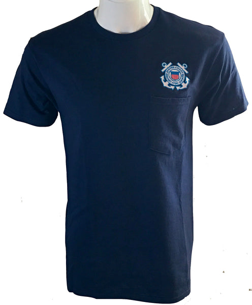 US COAST GUARD POCKET TEE