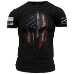 American Spartan T-Shirt by Grunt Style sold by American Pride Apparel and Gifts.