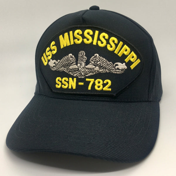 USS MISSISSIPPI SSN-782 HAT * MADE IN THE USA