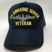 U.S SUBMARINE SERVICE VETERAN HAT * MADE IN THE USA