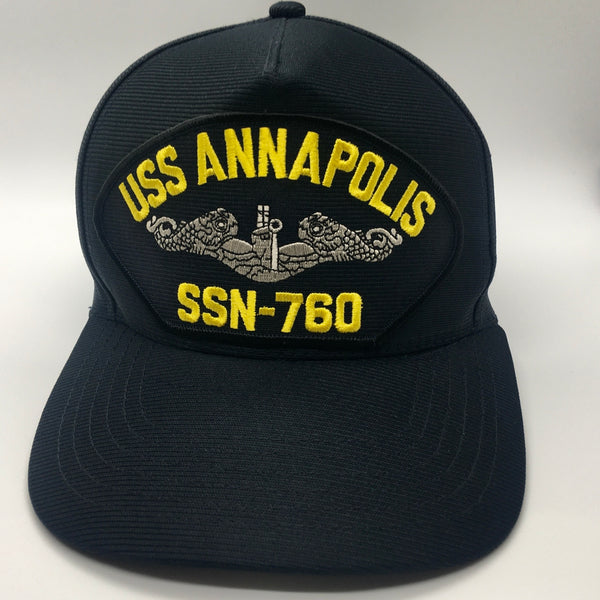 USS ANNAPOLIS SSN-760 HAT * MADE IN THE USA