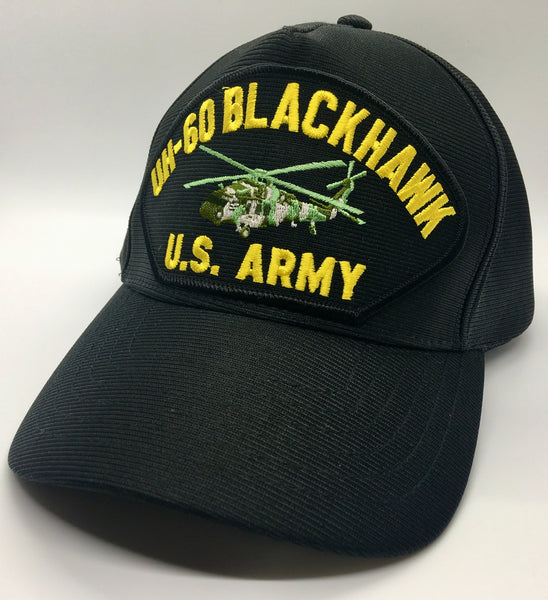 US ARMY UH-60 BLACKHAWK HELICOPTER HAT * MADE IN THE USA