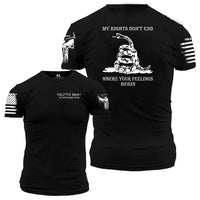 MY RIGHTS T-SHIRT  by ENLISTED RANKS