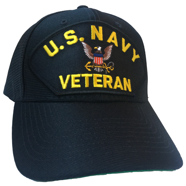 US NAVY VETERAN MADE IN THE USA HAT