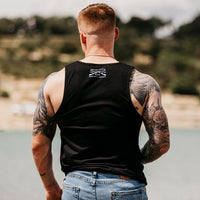 MEN'S RIFLE FLAG TANK TOP
