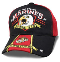 EAGLE SREAM - US MARINES CAP