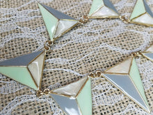 Minty triangles necklace