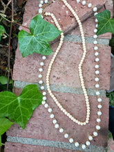 Peaches and creme necklace