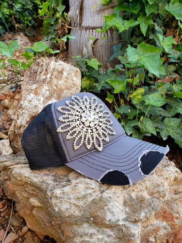 Bling sunflower hat